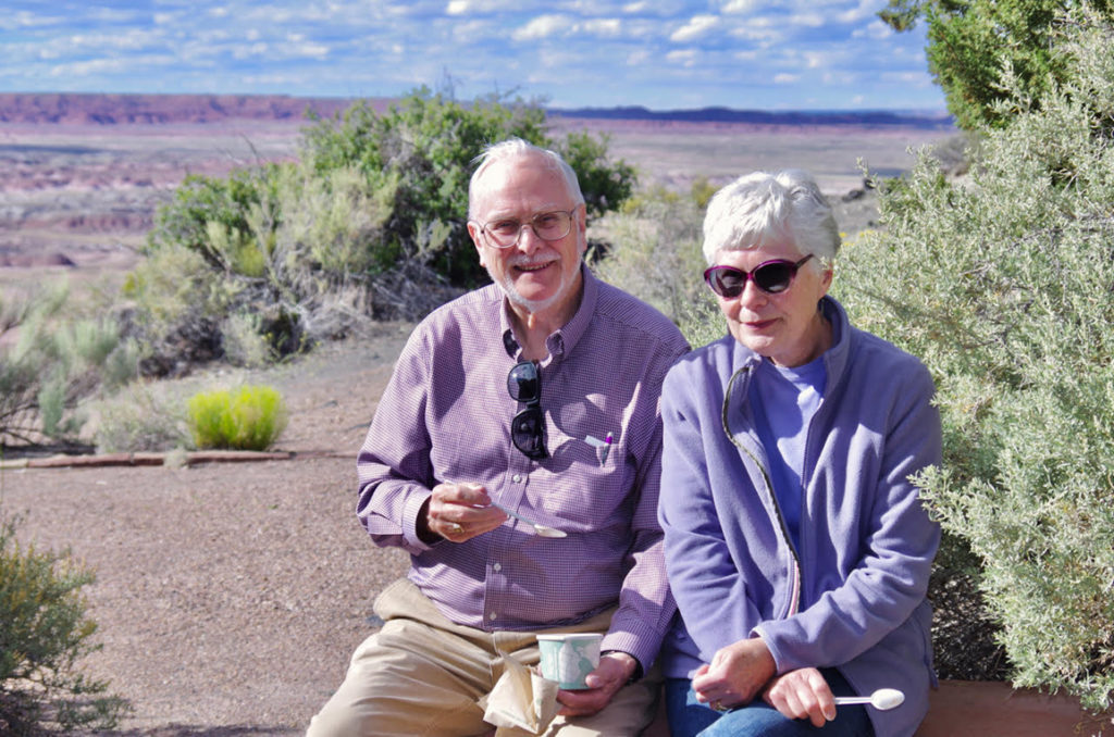Grandparents at Painted Desert