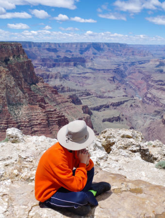Quiet Moment at the Grand Canyon