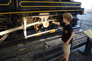 Touching trains