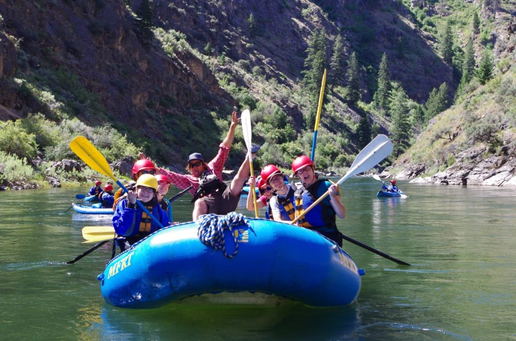 Rafting Together