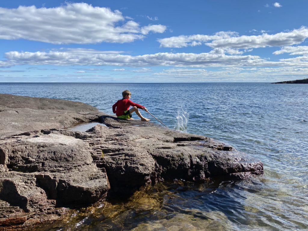 Lake Superior Splashes